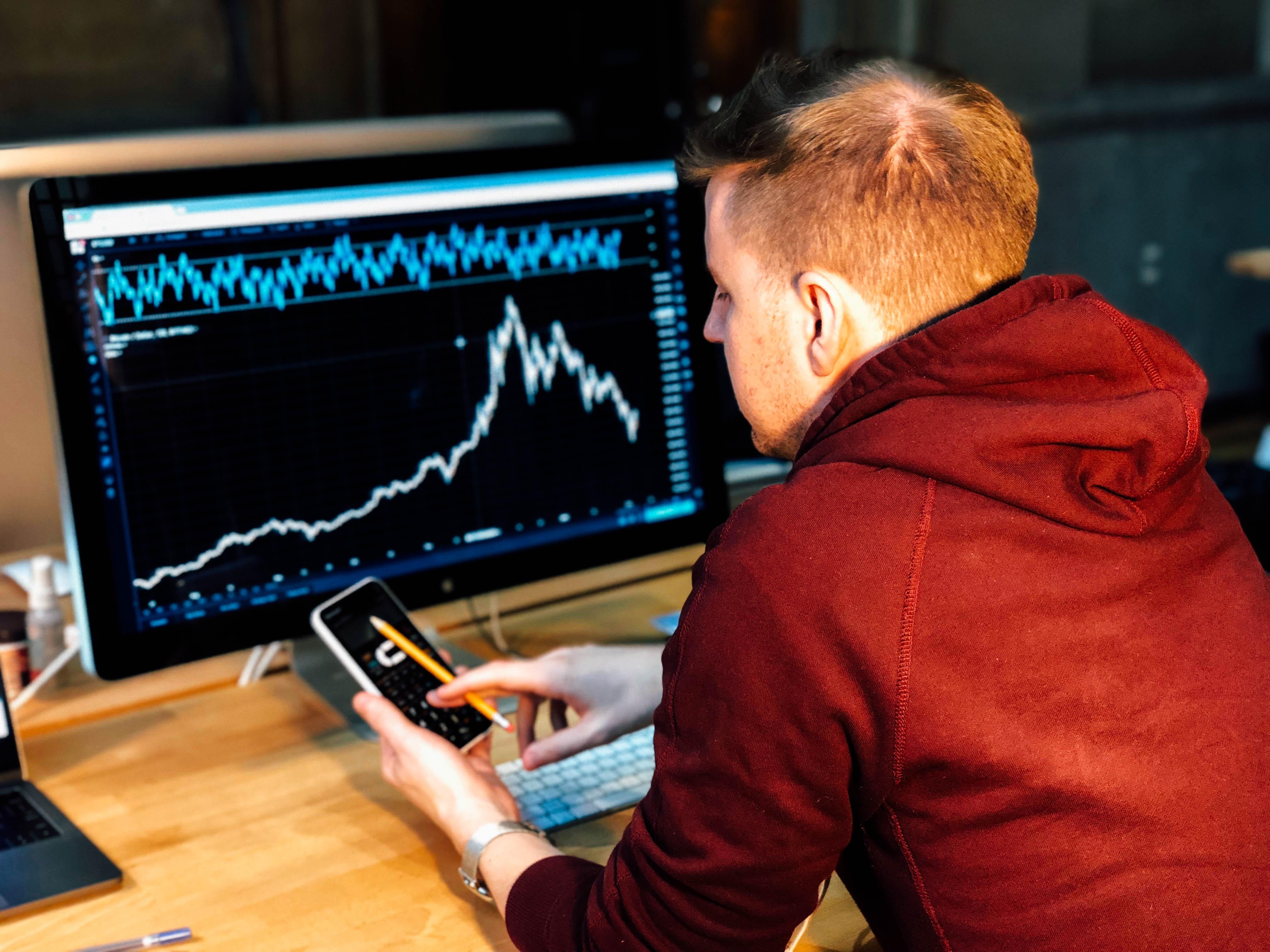 Investisseur en cryptomonnaie